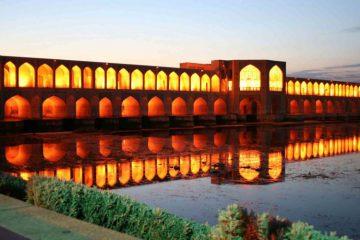 تصاویری زیبا از پائیز دل انگیز در اصفهان