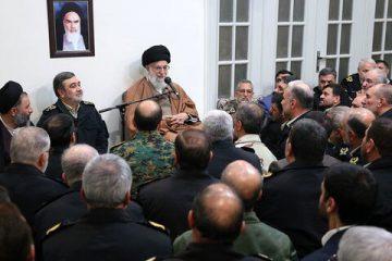 فرمانده معظم کل قوا : کاری کنید که نیروی انتظامی در چشم مردم مقتدر، عادل و هوشیار باشد