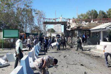 حمله تروریستی به مقر فرماندهی انتظامی چابهار