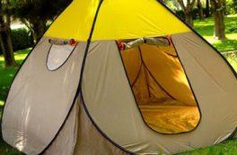 این چادر مسافرتی است یا هتل لوکس ۵ ستاره!/ تصویر