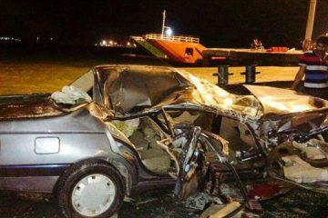 ۹ کشته در حادثه رانندگی بلوار خلیج فارس زاهدان