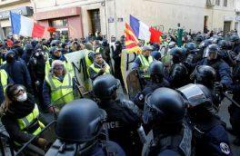 دهمین هفته تظاهرات جلیقه زردها