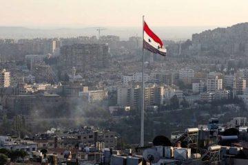 وقوع انفجار در نزدیکی دمشق