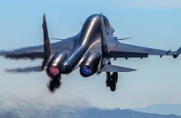 سقوط بمب افکن های سوخو در روسیه