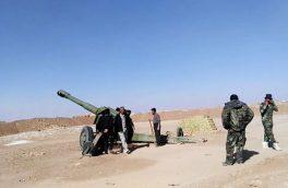 حمله حشد شعبی عراق به مقرهای داعش در سوریه