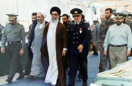 عکس خاص و قدیمی شهید ستاری در کنار رهبری