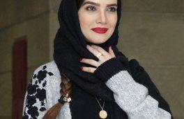 عکس آتلیه ای و زیبای خانم بازیگر با شعری از مولانا