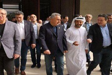 هیات اقتصادی سوریه به امارات رفت