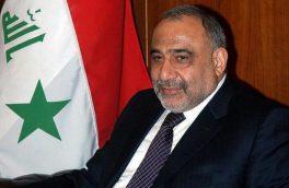 نخست وزیر عراق بر گسترش روابط دو جانبه با ایران تاکید کرد
