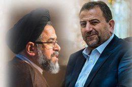 دیدار هیئتی از حماس با وزیر اطلاعات ایران